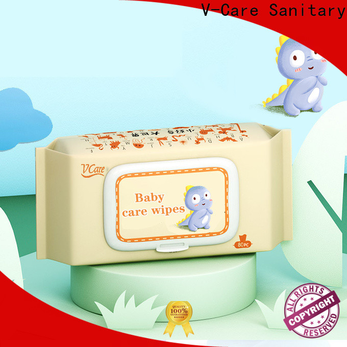 V-Care wholesale cleaning wet wipes suppliers for men