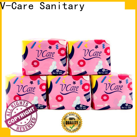 V-Care custom good sanitary pads manufacturers for business