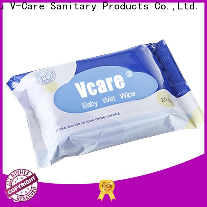 V-Care custom wet wipes suppliers for men
