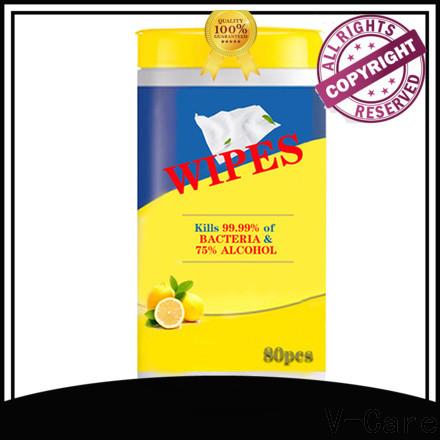 V-Care oem bulk wet wipes supply for baby