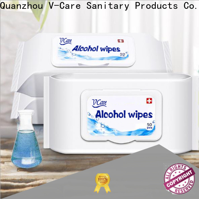 V-Care high-quality cheap wet wipes manufacturers for baby