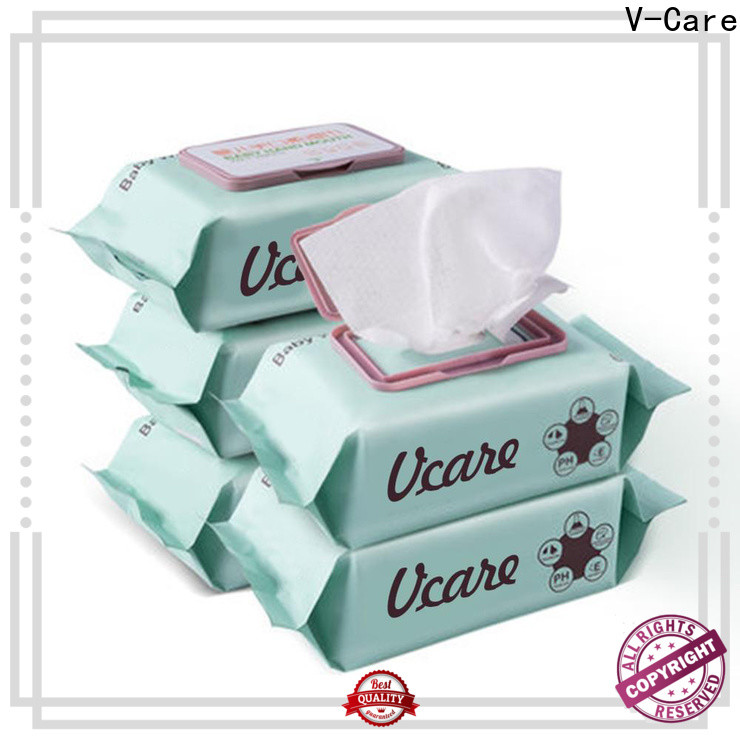 V-Care wet wipes wholesale factory for baby