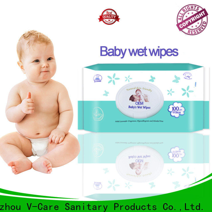 V-Care cleaning wet wipes company for men