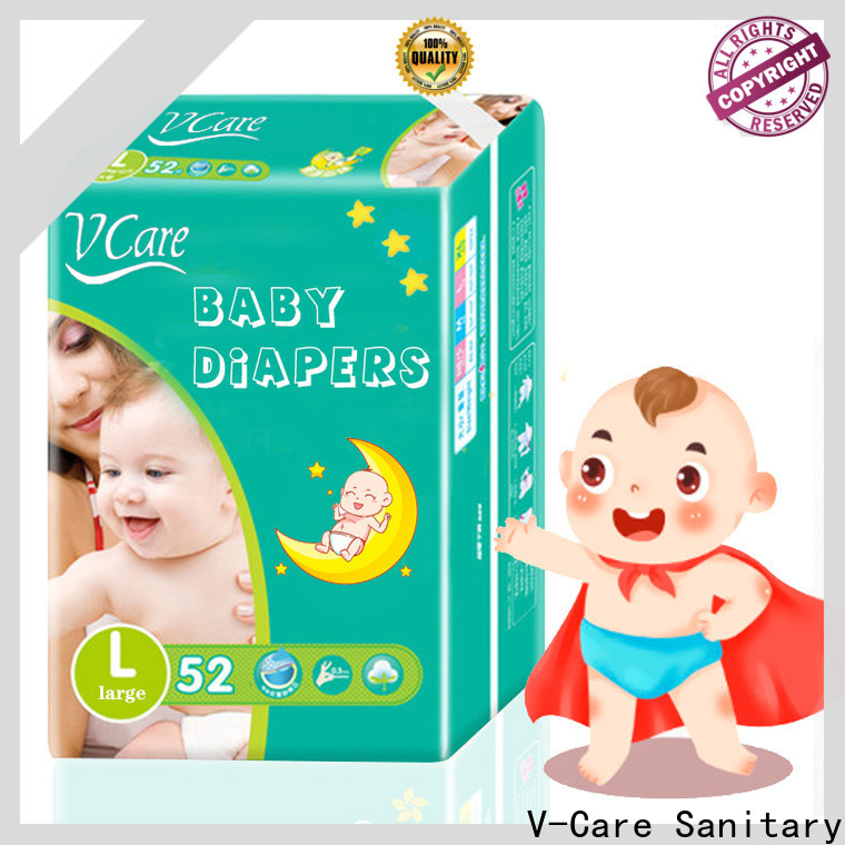 V-Care custom newborn disposable nappies company for infant