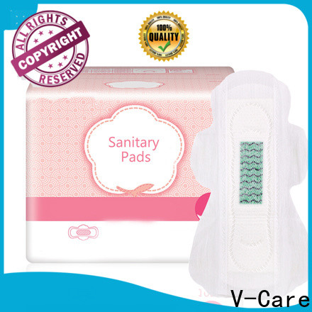 V-Care ultra thin good sanitary pads with custom services for sale