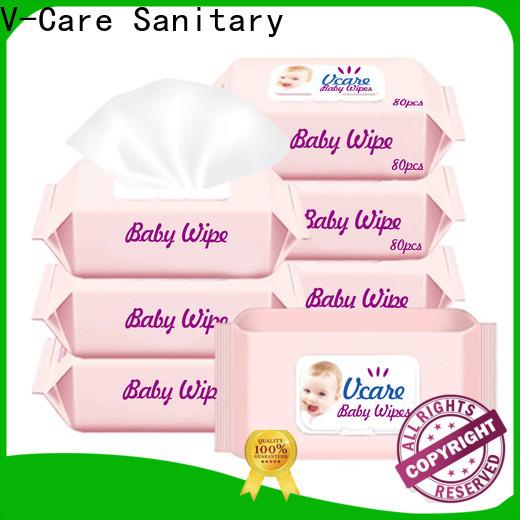 V-Care new custom wet wipes factory for adult
