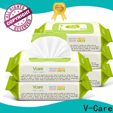 V-Care wet wipes factory for baby