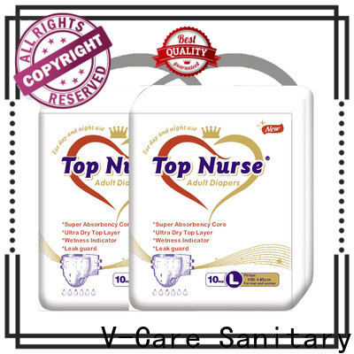 V-Care new adult diaper supplies factory for adult