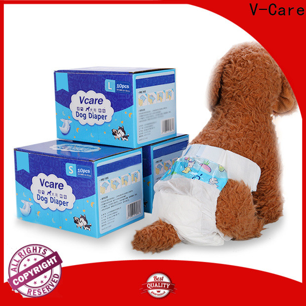 V-Care latest disposable pet diapers manufacturers for dogs