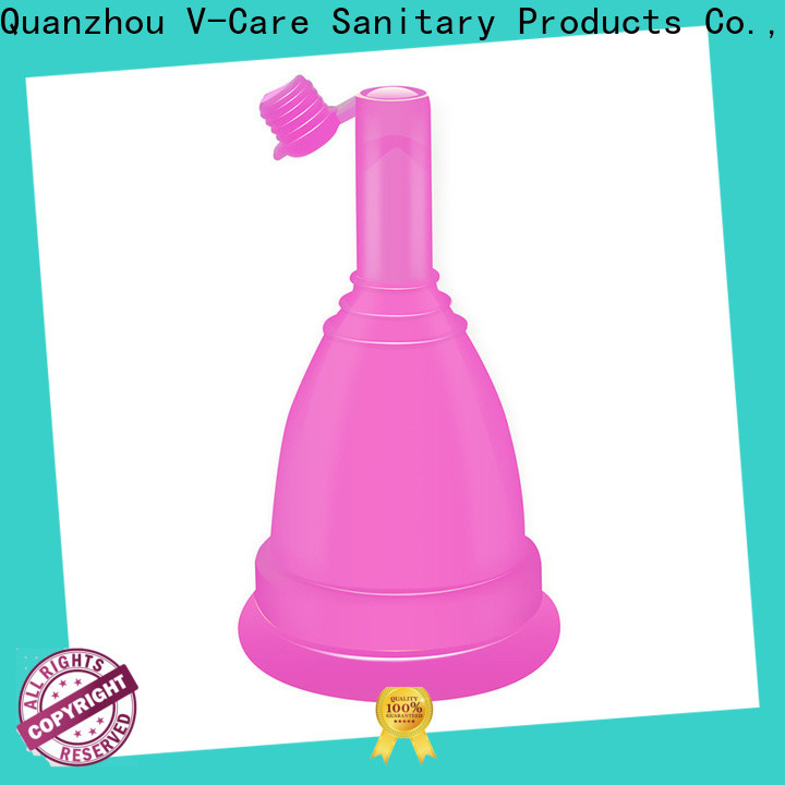 V-Care cheap menstrual cup factory for business