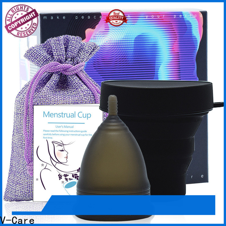 V-Care period menstrual cup factory for women