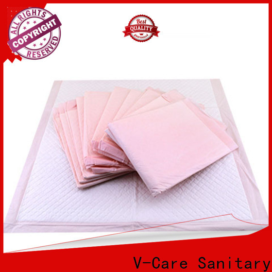 V-Care factory price underpad sheet company for old people