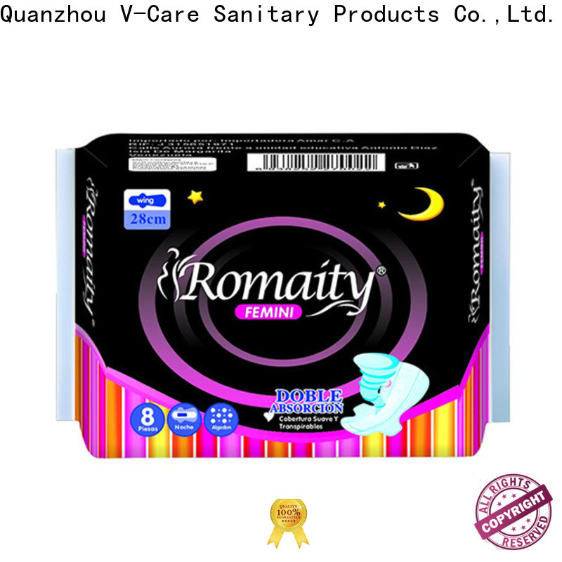 latest disposable sanitary napkins factory for ladies