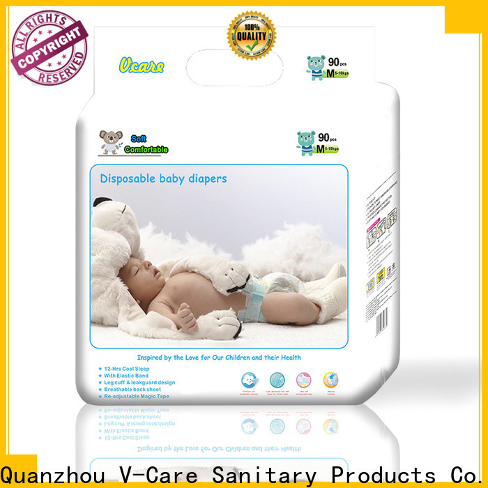 breathable best cheap baby diapers factory for baby