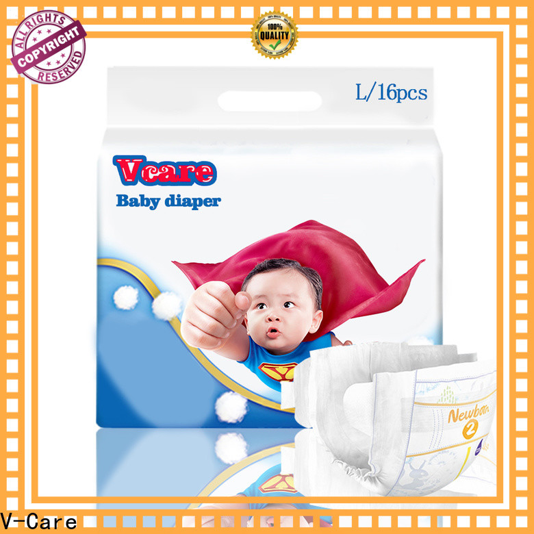 V-Care superior quality best newborn baby nappies manufacturers for infant