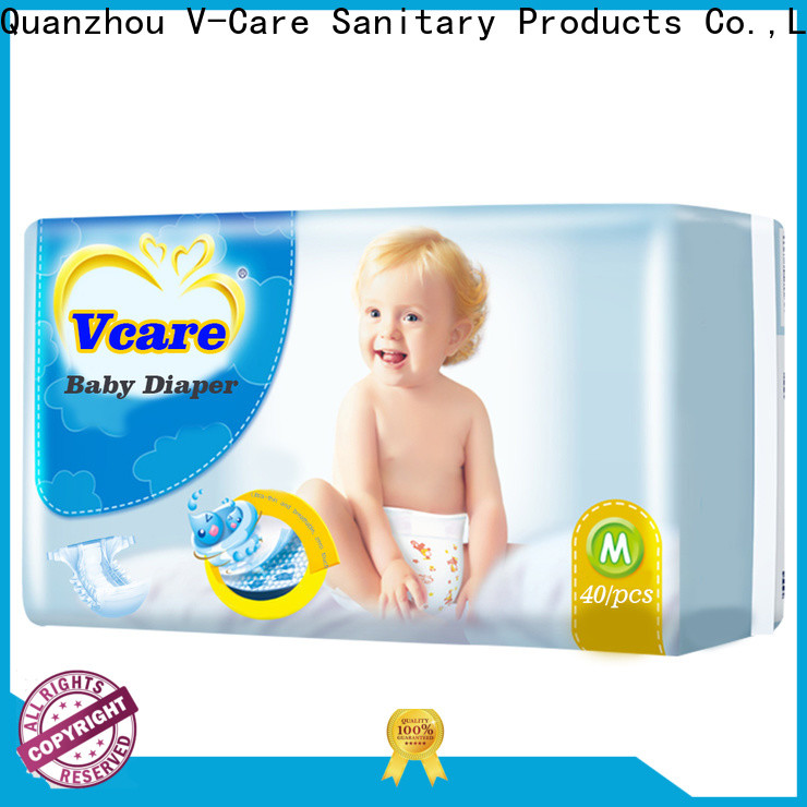 V-Care superior quality baby pull ups diapers factory for baby