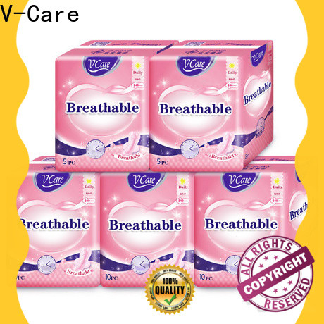 V-Care night wholesale sanitary pads factory for business