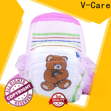 V-Care hot sale best disposable baby diapers factory for sale