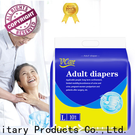 V-Care custom comfortable adult diapers with custom services for sale