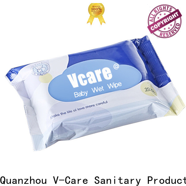 V-Care wet tissue paper factory for adult