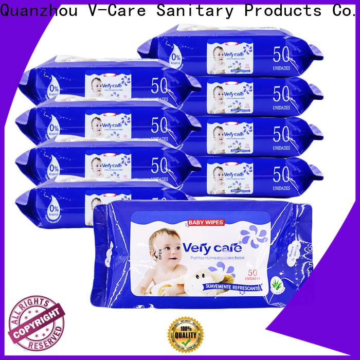 V-Care oem wet wipes manufacturer company for men
