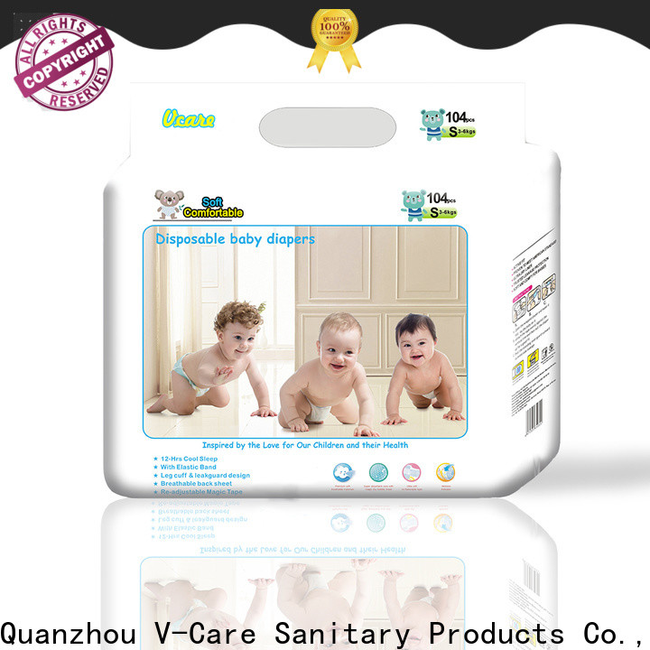 V-Care infant baby diapers manufacturers for children