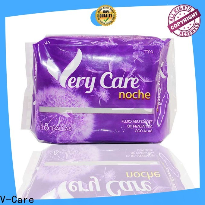 V-Care breathable best sanitary towels supply for ladies