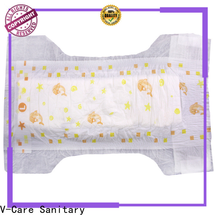 V-Care newborn disposable nappies supply for sleeping