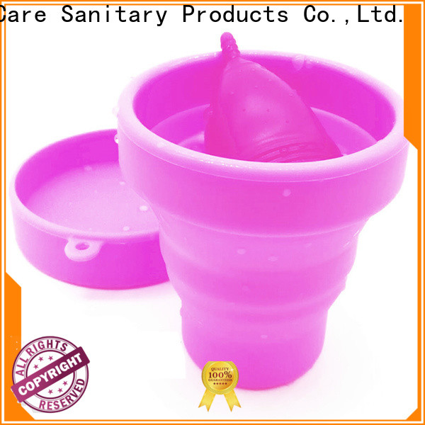 V-Care cheap menstrual cup company for women