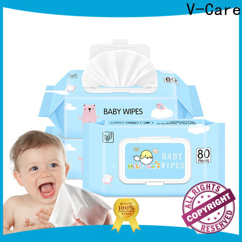 V-Care cleaning wet wipes suppliers for baby