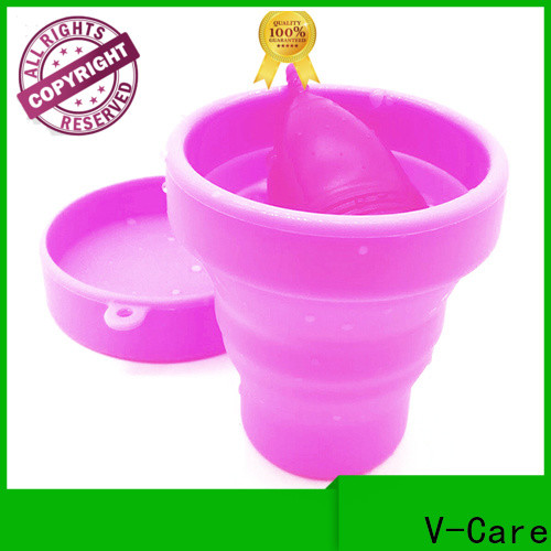 V-Care top menstrual cup supply for business