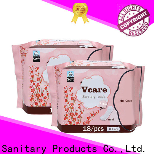 V-Care disposable sanitary napkins factory for ladies