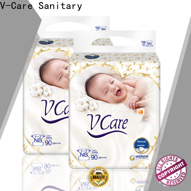 V-Care baby nappies factory for sleeping