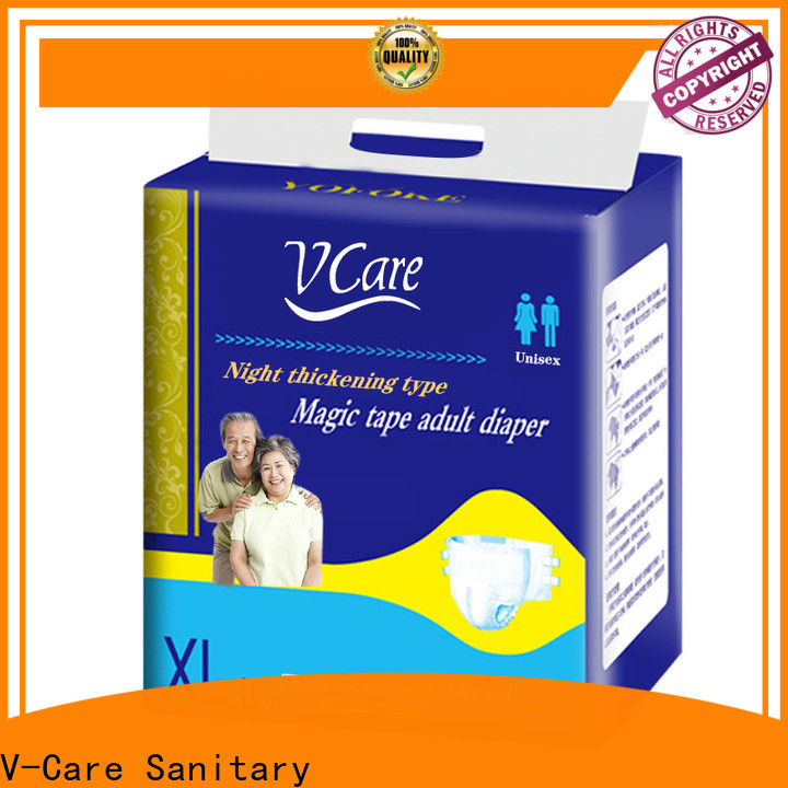 V-Care fast delivery top rated adult diapers company for sale