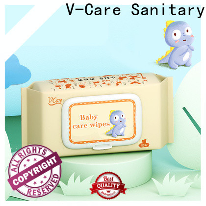 V-Care high-quality cheap wet wipes supply for women