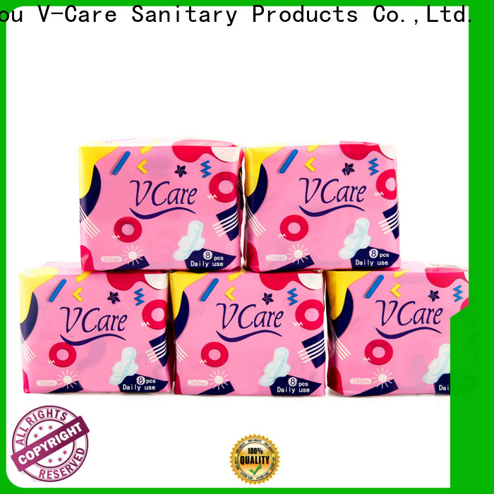 V-Care custom best sanitary towels manufacturers for women