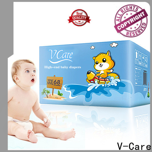 V-Care latest new born baby diapers supply for baby