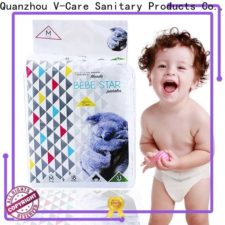 V-Care disposable baby nappies manufacturers for infant