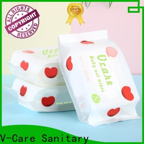 V-Care wet wipes manufacturer factory for baby