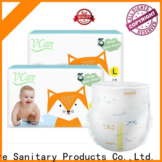 V-Care new baby diapers factory for sleeping