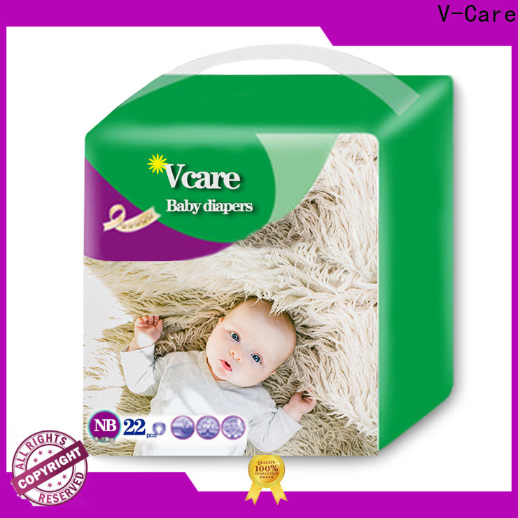 V-Care newborn disposable diapers company for sleeping