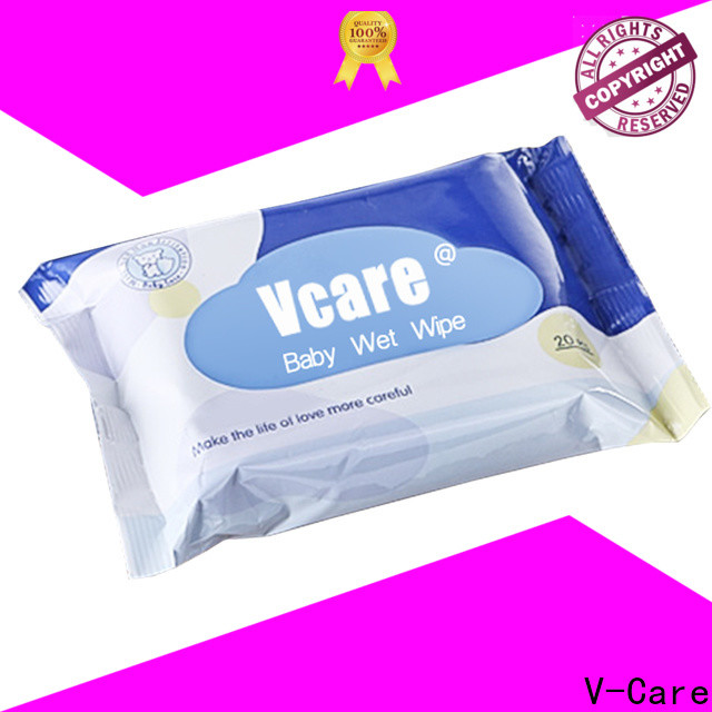 V-Care wipe tissue manufacturers for adult