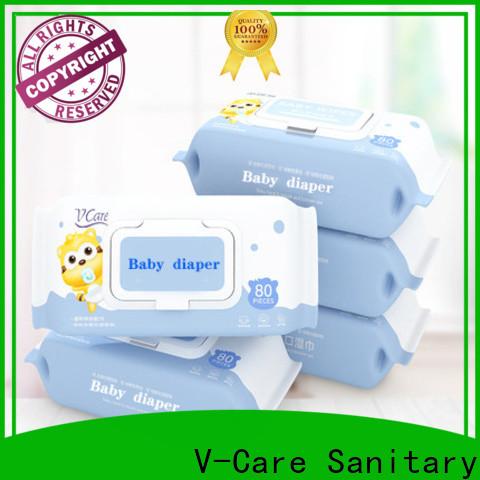 V-Care wet tissue factory for baby