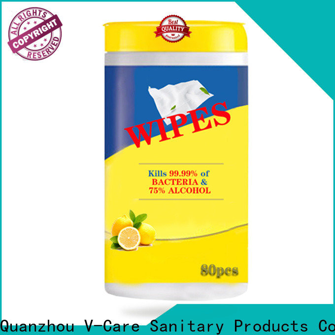 V-Care cheap wet wipes manufacturers for adult