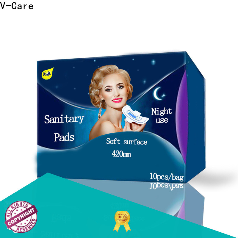 V-Care cheap sanitary pads supply for sale