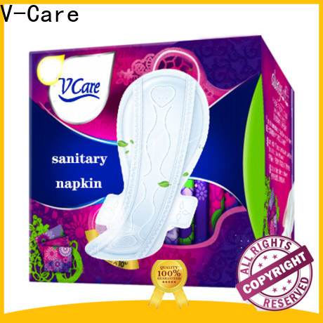 V-Care night good sanitary pads factory for business