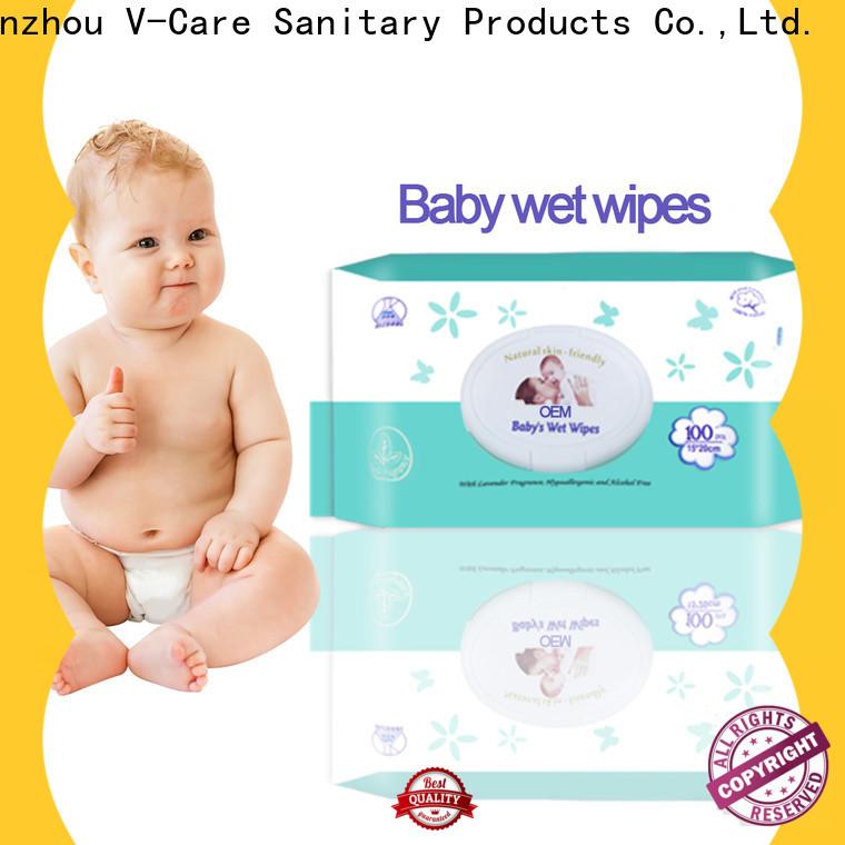 V-Care top wipe tissue manufacturers for men