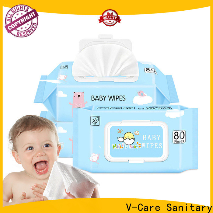 V-Care oem wipe tissue manufacturers for adult