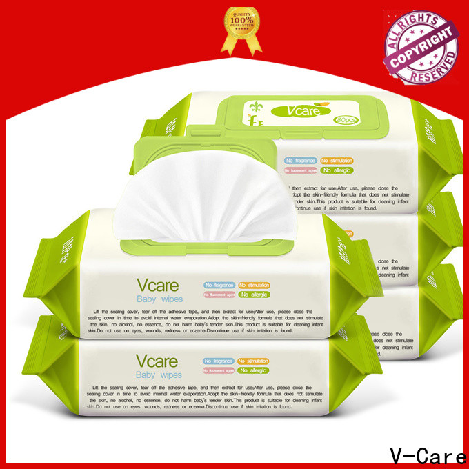V-Care high-quality wet wipes wholesale manufacturers for baby
