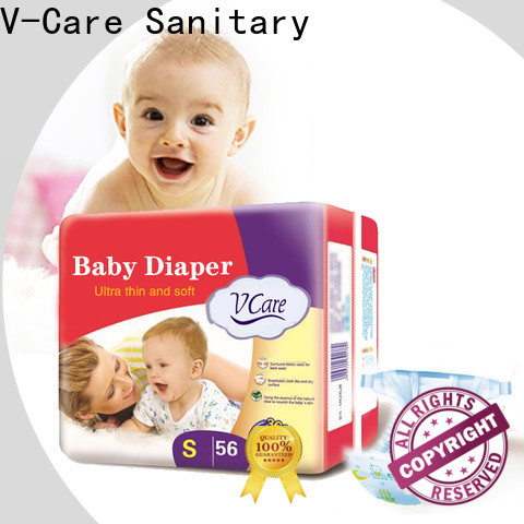 V-Care breathable new born baby diapers for business for baby